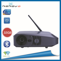 2015 Hot Sell High Lumen led Projector Latest Projector Mobile Phone Smart Tv Led Projector For Entertainment Use