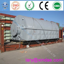 Previous energy development solid wastes pyrolysis equipment to marine oil