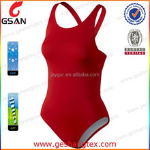 Polyester stretch one piece Women's Tank Swimsuit