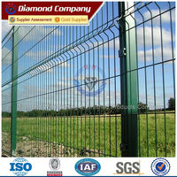 plastic fence for garden residential fence triangle bending fence