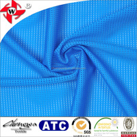 Chuangwei Texile vivid color smooth soft breathable flexiable nylon spandex raindrop hole mesh fabric for swimwear