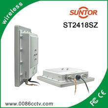 BNC/RCA interface 2.4 ghz wireless audio video receiver