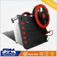SBM PEW black stone crushing equipment with high capacity and low price