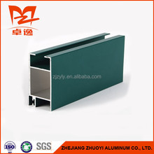Powder Coating 6063 T5 Construction Extruded Aluminum