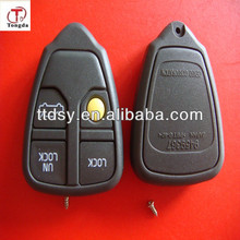 TD top best 4 button remote control, remote key cover for volvo key shell no logo