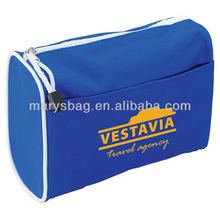 ON SALE-Voyager Amenity Bag with simple design and white accent trim