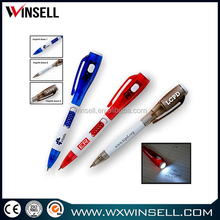 High quality popular promotion bowling plastic ball pen