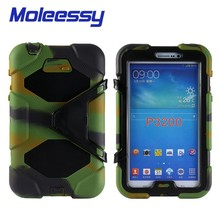 shock proof child proof tablet case for Samsung tab 3/p3200/3201