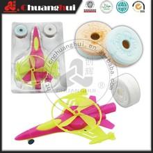 Kunststoff süßigkeiten spielzeug flugzeug/Flugzeug spielzeugsüßigkeit flugzeug