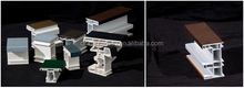 multi color plastic strong window frame cover profiles co extrusion mould