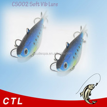 soft VIB lures mainly used for fishing trout redfin bonito salmon