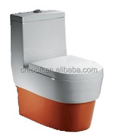 wall mounted WC Colorful Ceramic Toilet