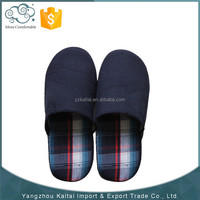 Newest hot sale high quality cheap men soft indoor slippers for winter