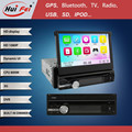 Hd 1080p bluetooth Telefonbuch 3g wifi FM/AM 1 din auto pc-monitor