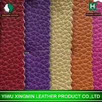 many color textiles pu leather for sofas bags