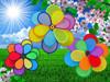flower garden decoration ,toys pinwheel,decoration novelty garden windmills