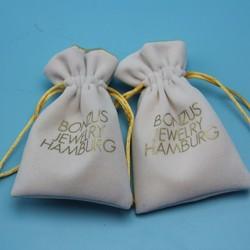 China Cheap Mini Customized Logo Wholesale Packing Jewelry Bag