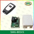 Smg- 801v3 1 canal 433 mhz control remoto de rf de reemplazo abrepuertas para garaje receptor