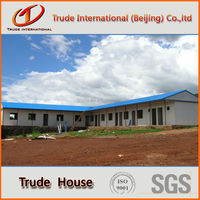 cheap galvanized steel prefab homes with high quality