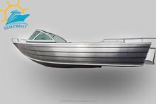 Australian style aluminum panga boat with windscreen for fishing