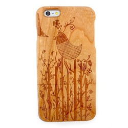 for iphone 6 plus wooden covers,wood case for iphone 6 plus,cherry wood covers for iphone 6 plus