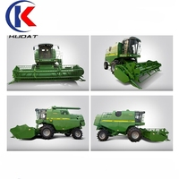 China manufacturer Kubota type rubber tracked farm combine harvester for rice and wheat