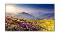 2015 Hot sell ultra narrow lcd tv screen for indoor advertising