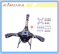 Quadcopter HJ-Y3 Glass Fiber Tricopter/Three-axis Multicopter Frame Kit High Quality for RC Airplanes Drop shipping