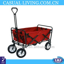 Convenient and practical beach cart and camperfolding beach cart