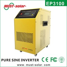 New Design! EP3100 Series Hybrid 1000-6000w off grid pure sine wave power inverter with charger