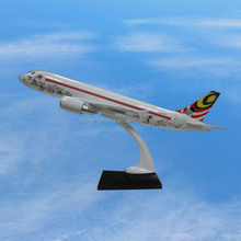 plastic scale model aircraft 1 100 scale model aircraft detachable airbus A320 ISO9001OEM high quality business gift sounevir
