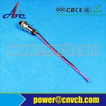 22mm green indicator lamp 6v/12v/24v 72v 110v moving head foldable led lamp