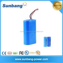 led battery operated pendant light rechargeable 2s1p 7.4v 2200mah battery