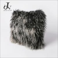 Hot Sale China Supplier Wholesale Tibetan Mongolian Lamb Fur Curly Cushion Cover