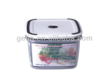 clear plastic airtight and waterproof micro container