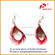 Beautiful Decoration Feather Earrings