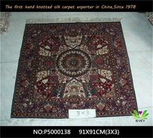 Best quality hot sale banquet hall handmade floor carpet hotel corridor persian woven area rugs