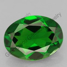 Popular Natural Emerald Green Gemstones Wholesale Eye See Clean Quality Natural Diopside Russia Emerald