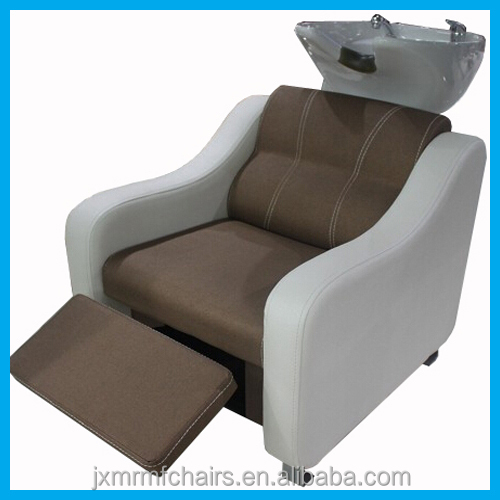 Beauty salon shampoo chairs beds hairdressing shampoo bowl for Hairdressing salon furniture suppliers