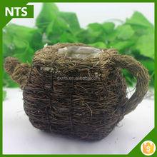NTS Garden Teapot Style Decoration Flower Planter