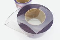 Super Transparent soft PVC strip door curtain roll,super clear flexible soft pvc strip curtain sheet