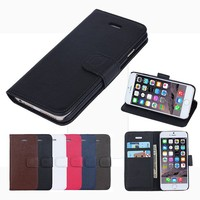 Free sample Oracle grain wallet mobile phone case cover for iphone 6