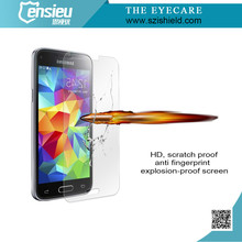 Full Cover 0.3mm 2.5D 9H Tempered Glass Screen Membrane for Galaxy S5mini