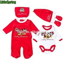 pcs 5 material de terciopelo de la fiesta de navidad ropa para niños juegos