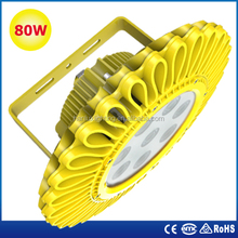 CE ROHS ATEX approved IP66 LED Explosion Proof light, LED Explosion Proof Lamp 80w