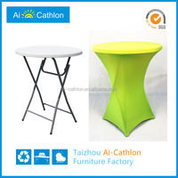 simple design bar table and chairs,portable high bar table