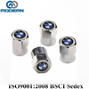 4pcs BMW logo promotion car tire valve caps
