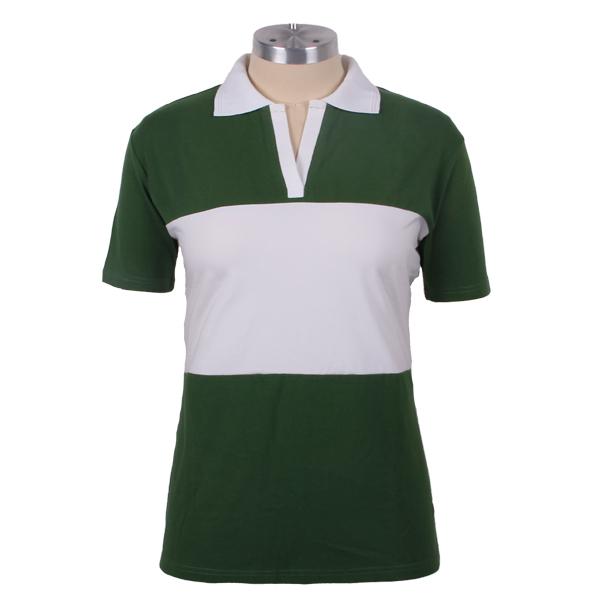 White black cotton customiz color combination polo t shirt for Polo shirt color combination