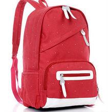 lienzo de alta calidad mochila escolar para niñas mochilas para universitarios