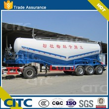 cement bulk tanker semi trailer/bulk cement tanker could be made particular for you